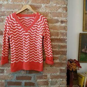 Gap Chunky Chevron Sweater